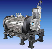 Cylindrical Ribbon Blenders offer 1/2-1,000 cu-ft capacities.