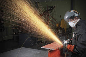 Grinding Wheel offers optimized material removal rate.