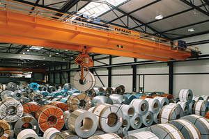 Terex Material Handling Wins Order to Provide AZZ Galvanizing Services with 12 Overhead Cranes and 8 Rope Hoists