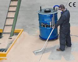 HEPA Vacuum Cleaner features 110 gallon capacity.