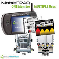 Vehicle Monitoring System helps prevent backing accidents.