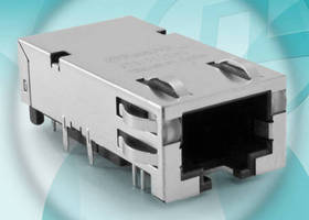 Halogen-Free 10GBASE-T RJ45 ICM has ultra low profile design.
