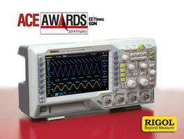 Rigol Technologies Named Finalist of Prestigious 2014 EE Times and EDN ACE Ultimate Product Award for Test and Measurement Systems and Boards