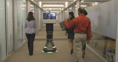 Video Collaboration Robot enables remote management.