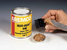 Copper-Filled Grease suits heat transfer applications.