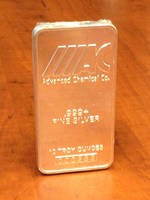 Advanced Chemical Advances Its Services by Offering 10 oz. Silver Bars