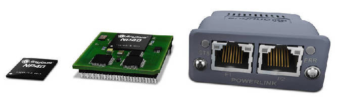 Industrial Network Interfaces offer Powerlink connectivity.