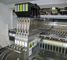 Emboss Taping Feeder reduces waste and increses efficiency.