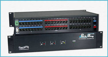 A/B Switch features Telnet access and remote control.