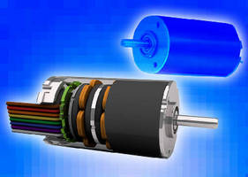 Brushless DC Motor suits low-noise applications.