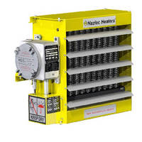 Explosion Proof Air Heaters range from 5-30 kW.