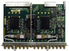 DRS MUX/DEMUX 3G Cards handle 256 audio channels each.