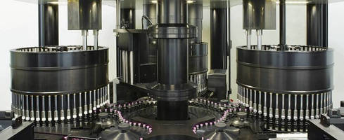 Automated Vial Inspection Machine handles up to 600 containers/min.