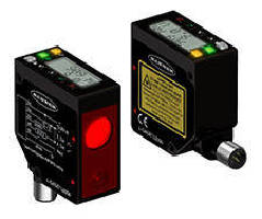 Laser Distance Sensor includes intuitive 2-line display.
