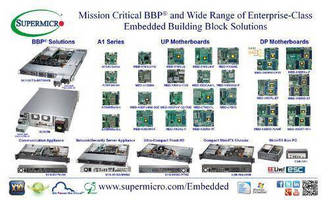 Supermicro® Exhibits Battery Backup Power for Mission Critical Embedded Applications at EELive! ESC 2014