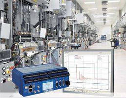 Data Acquisition System provides machine fault diagnostics.