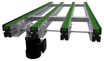 PV Panel/Pallet Conveyor meets solar industry challenges.