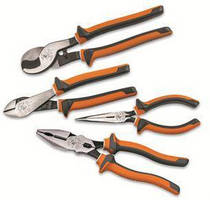 Electrician's Tools increase safety via 3-part insulation.