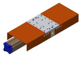 Linear Slide features lightweight, durable design.