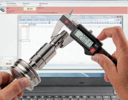 Digital Calipers support wireless data transmission.