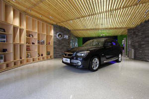 Flowcrete Backs China's Green Car Concept with Sparkling Sustainable Floor for New Showroom