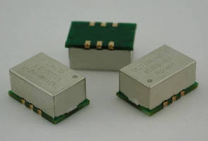 OCXOs feature frequency range from 10-40 MHz.