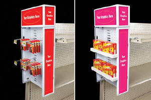 Retail Display creates additional merchandising space.