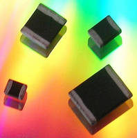 SMD Varistors are available with nickel barrier terminations.