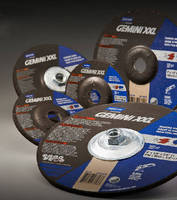 Depressed Center Wheels feature 100% aluminum oxide abrasive.