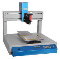 Bench-Top Robots provide automated precision fluid dispensing.