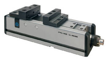 Clamping Vise ensures accuracy in CNC machining centers.