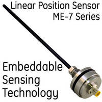 ME Series Inductive Sensor Designed as a Drop-In Replacement for Embedded Magnetostrictive Position Sensors and Potentiometers in Hydraulic Cylinders
