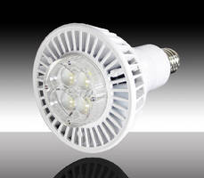 High/Low Bay LED Retrofit Lamp replaces 100 W HID light.
