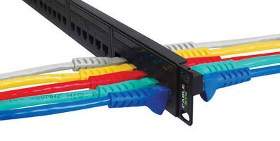 Patch Panels feature feed-through design.