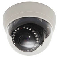 IP Dome Camera offers full HD 1080p broadcast quality video.