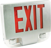 LED Emergency/Exit Light promotes safety in public areas.
