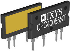 Optically Isolated AC Power Switch offers dual-power SCR outputs.