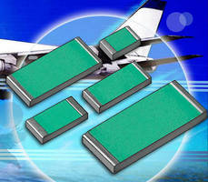 Precision Chip Resistors have noninductive, noncapacitive design.
