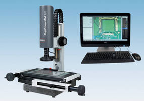 Video Measuring Microscope offers integrated image processing.