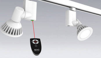 REVO, First Motorized Track Head, Available from Nora Lighting