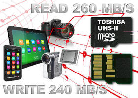 microSD Memory Cards comply with UHS-II interface standard.