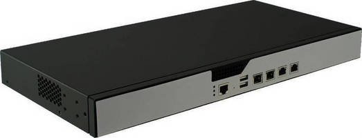 Network Appliance features Intel Atom CPU, QuickAssist technology.