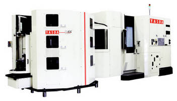Precision 5-Axis Machining Center offers repeatability, accuracy.