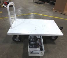 Electro Kinetic Technologies Designs Custom Motorized Cart for Aerospace Company
