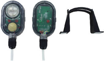 Water Leak Detector operates from battery or external power.