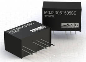 DC/DC Converter suits high/low side IGBT drive applications.