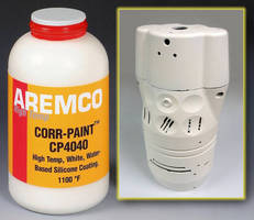 Protective White Coating serves high-temperature applications.