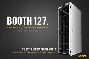 Telect Exhibits Data Center Solutions at Data Center World in Las Vegas