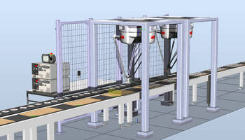 Simulation Software simplifies robotic pick-and-place design.
