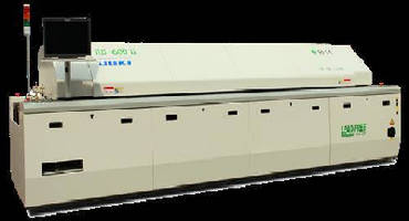 Air and Nitrogen Reflow Ovens feature 6-zone design.